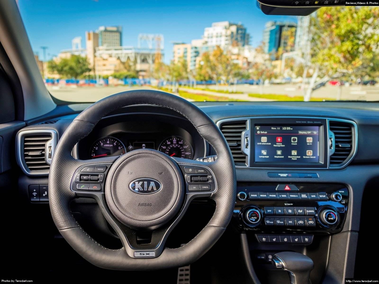 Hình ảnh xe ô tô Kia Sportage US-Version 2017 & nội ngoại thất