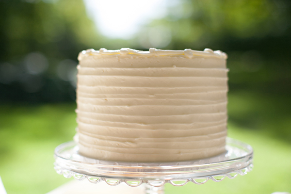 Vintage Style Wedding Cake MN