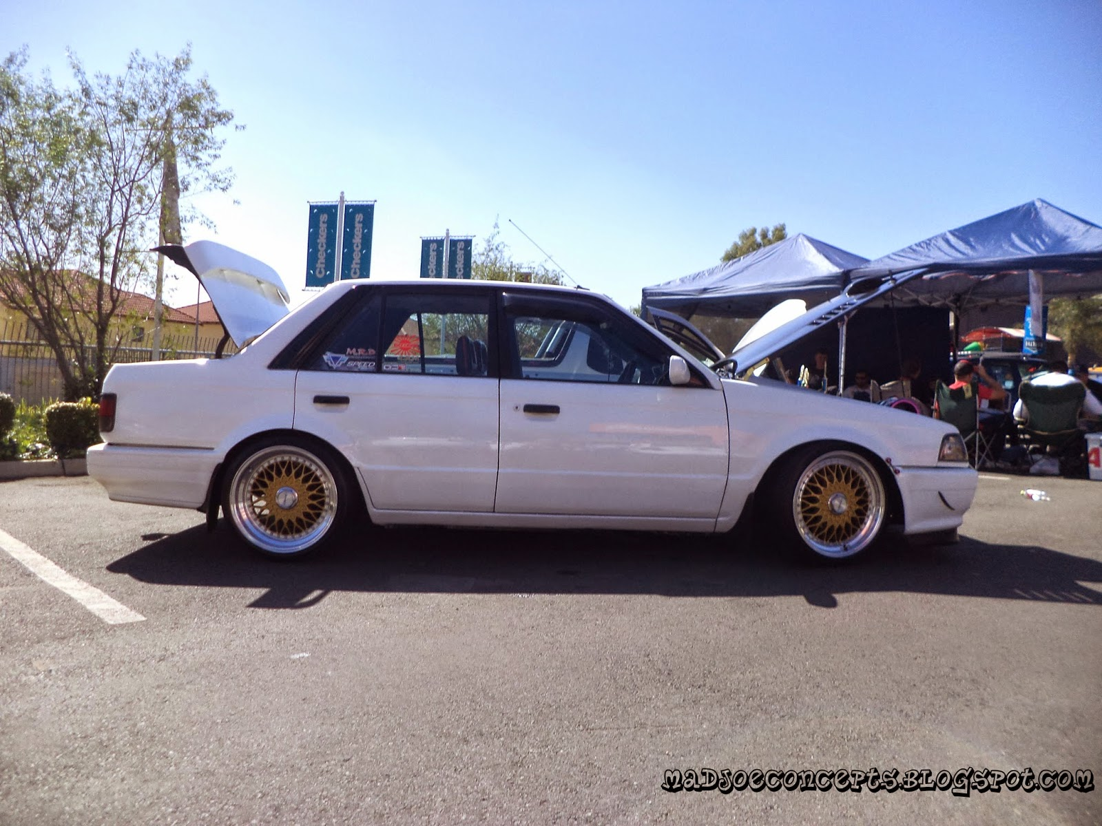 Madjoe Concepts Car Candy Inc Crew Battles 2015 Corolla Rxi 20v Modified Cars Pictures Not So Threatening From The Side Looks Worked