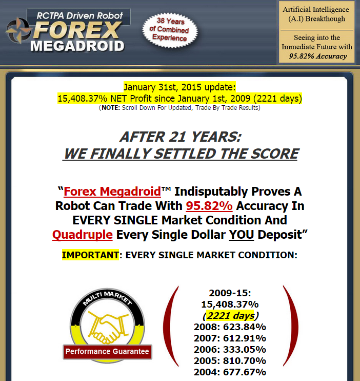 Forex megadroid robot free download