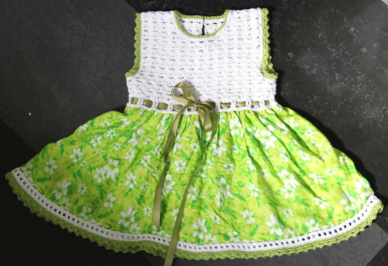 crochet dress baby lace