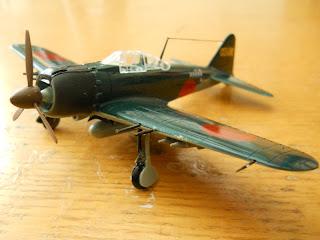 modelismo de aviones: caza zero de academy