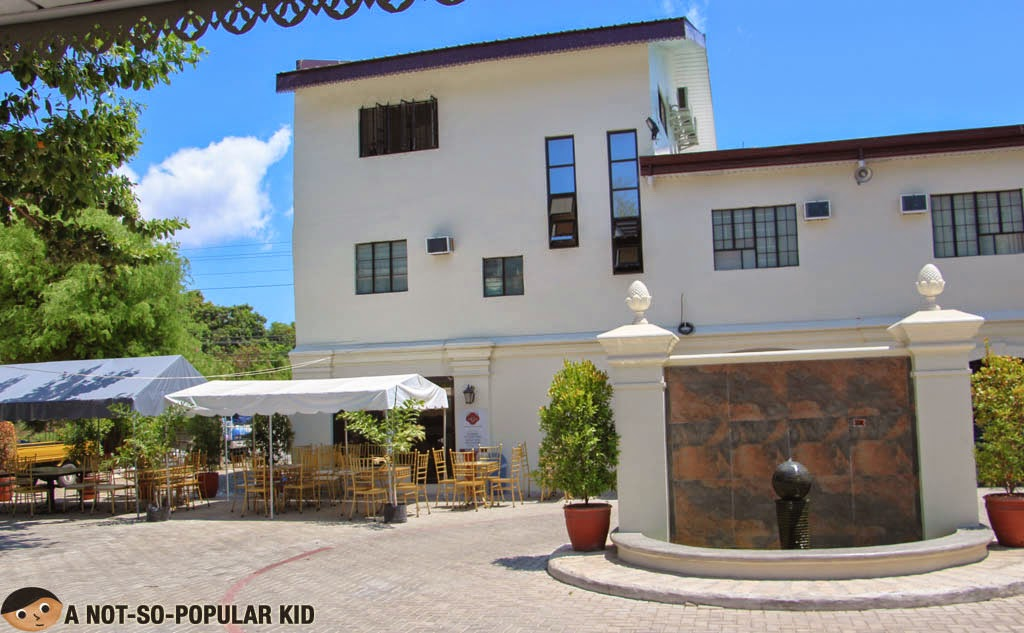 Back view of the Metro Vigan Inn Budget Hotel