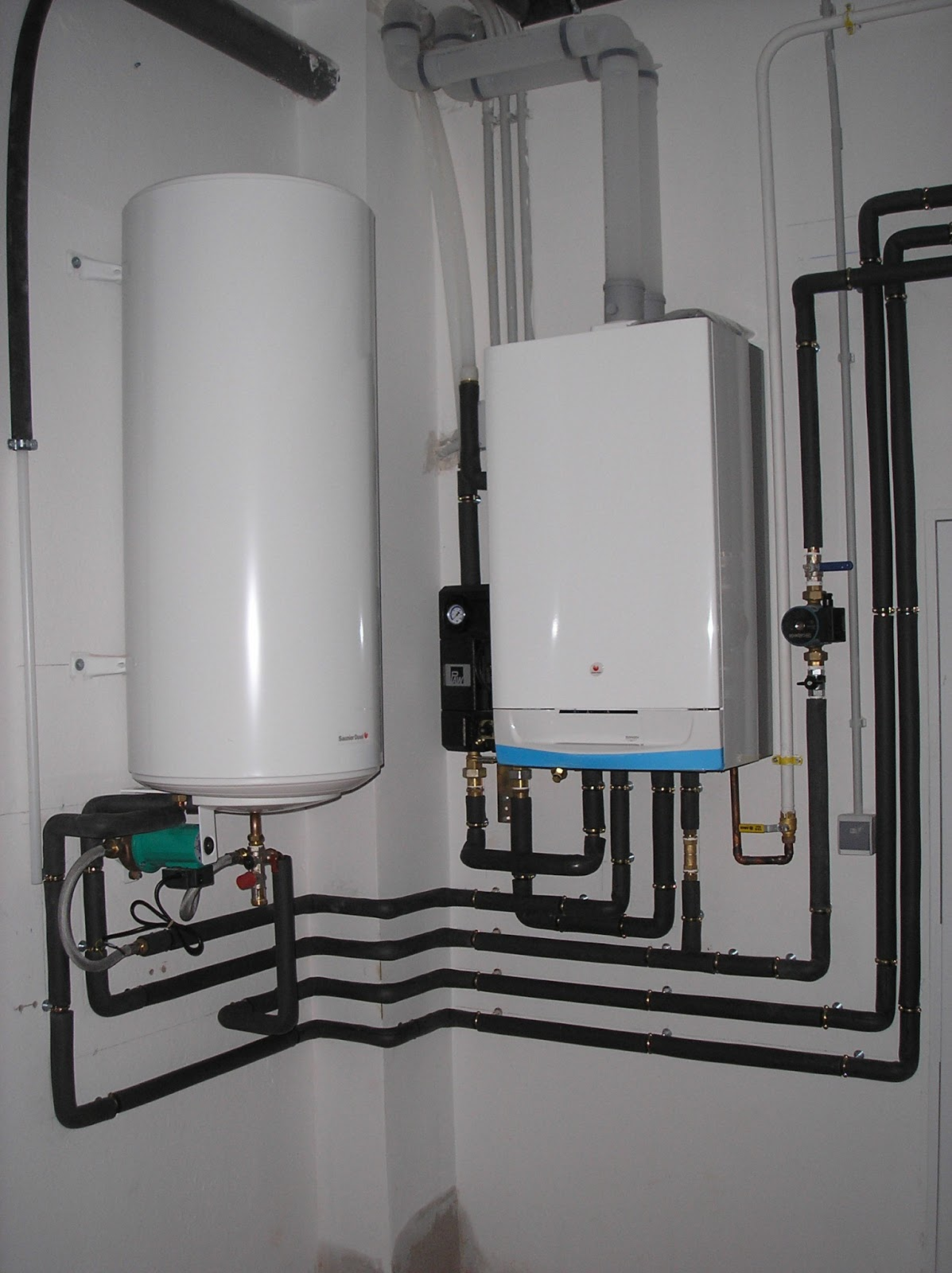 C mo ahorrar energ a 18 02 2013 gas natural versus gasoil - Caldera no calienta agua si calefaccion ...