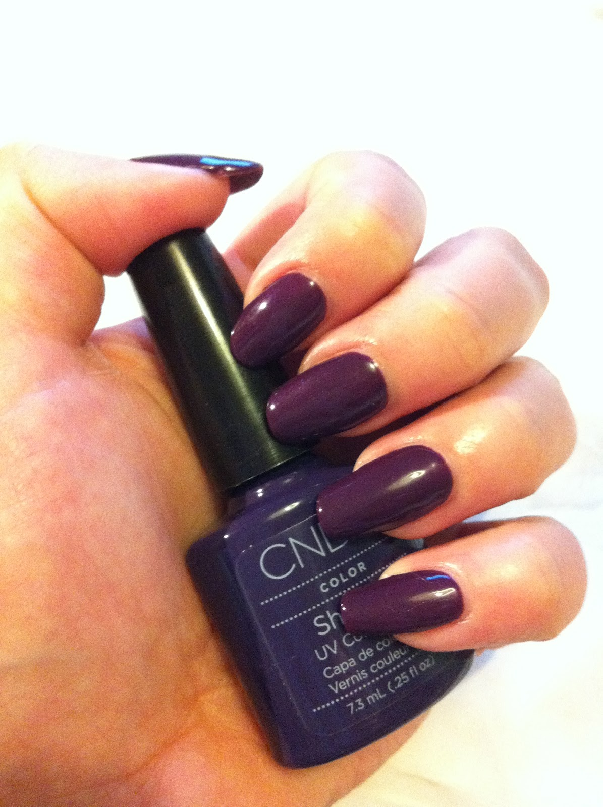 Brush up and Polish up!: CND Shellac Swatches