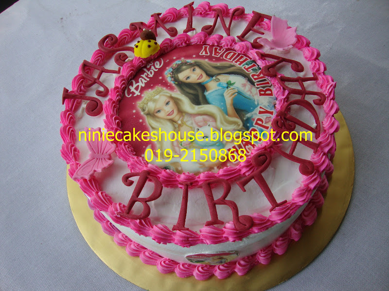 Edible Cake Images Barbie : ninie cakes house: Barbie Edible Image Red Velvet Cake