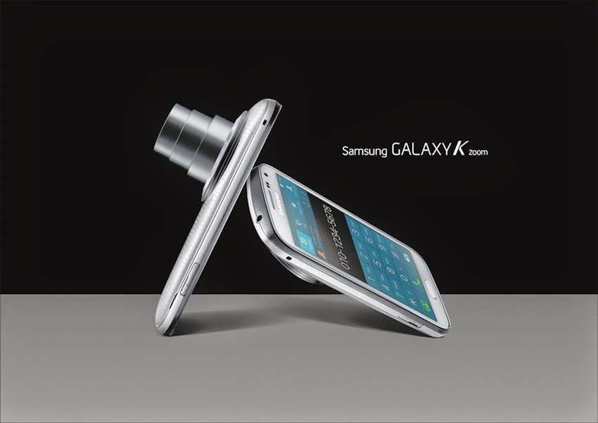 Kamera Galaxy K Zoom Dari Samsung Untuk Selfie