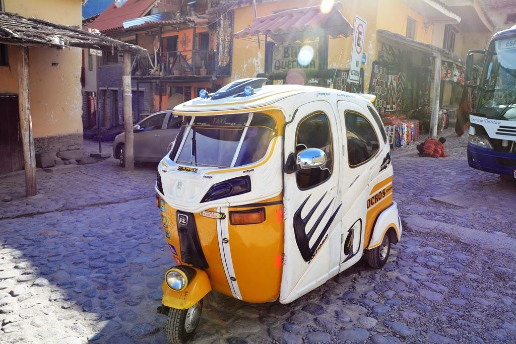 Ollantaytambo Town