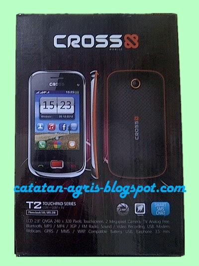 CROSS T2 Full Touchscreen