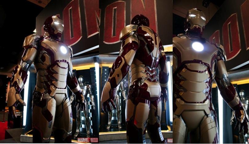 Mark Viii Iron Man 3 Iron Man's New Armour Not Mark
