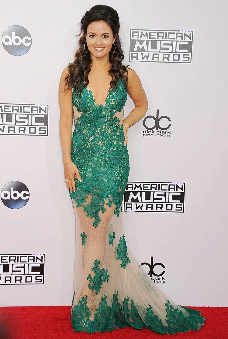 Danica McKellar at 2014 American Music Awards in Los Angeles