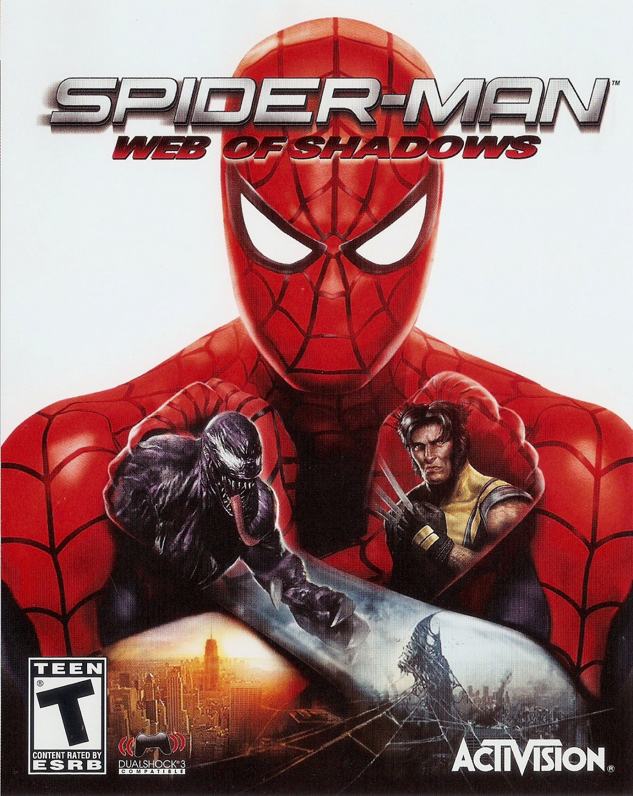 SPIDER MAN WEB OF SHADOWS-RELOADED