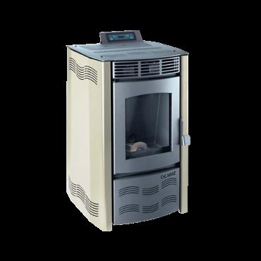 Manivelas para puerta estufas de pellets una calefacci n - Que es una estufa de pellet ...