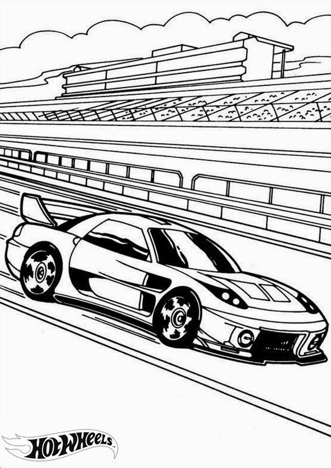 Hot Wheels Coloring Pages 21