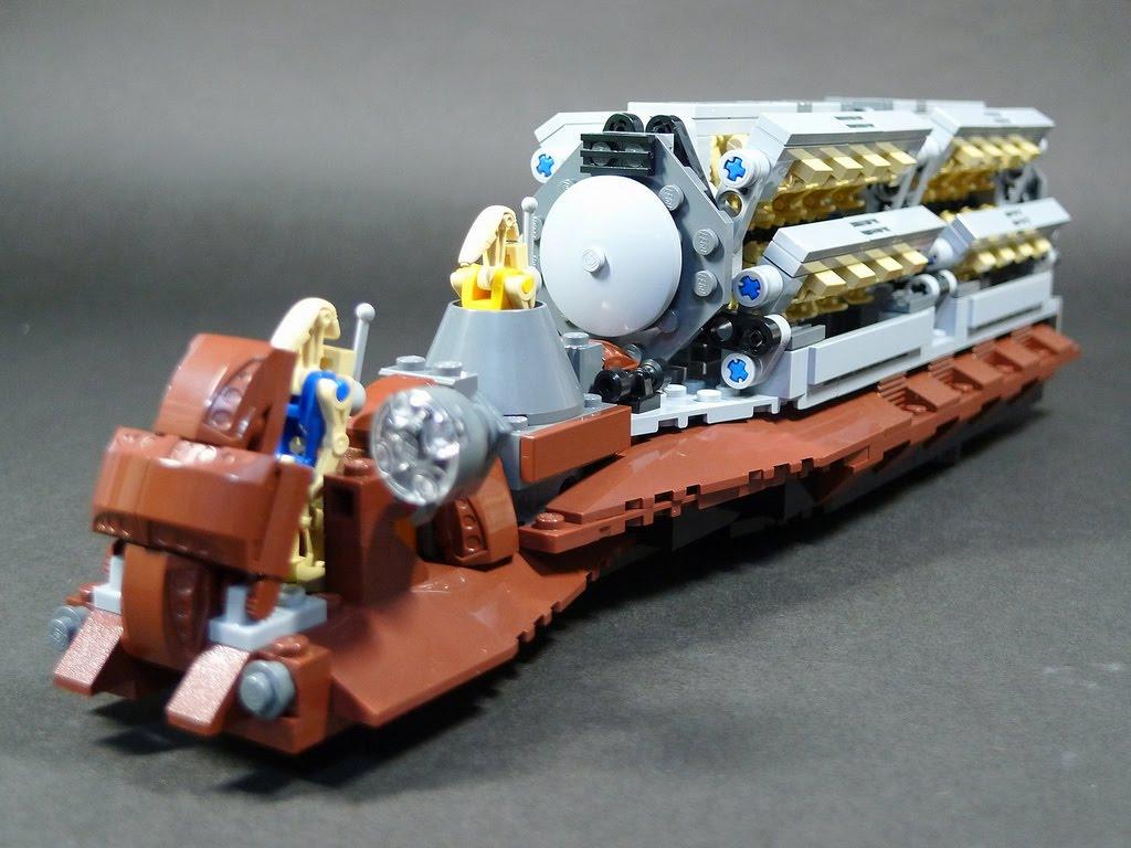Lego 7126 Star Wars Battle Droid Carrier - Brickwars Sets