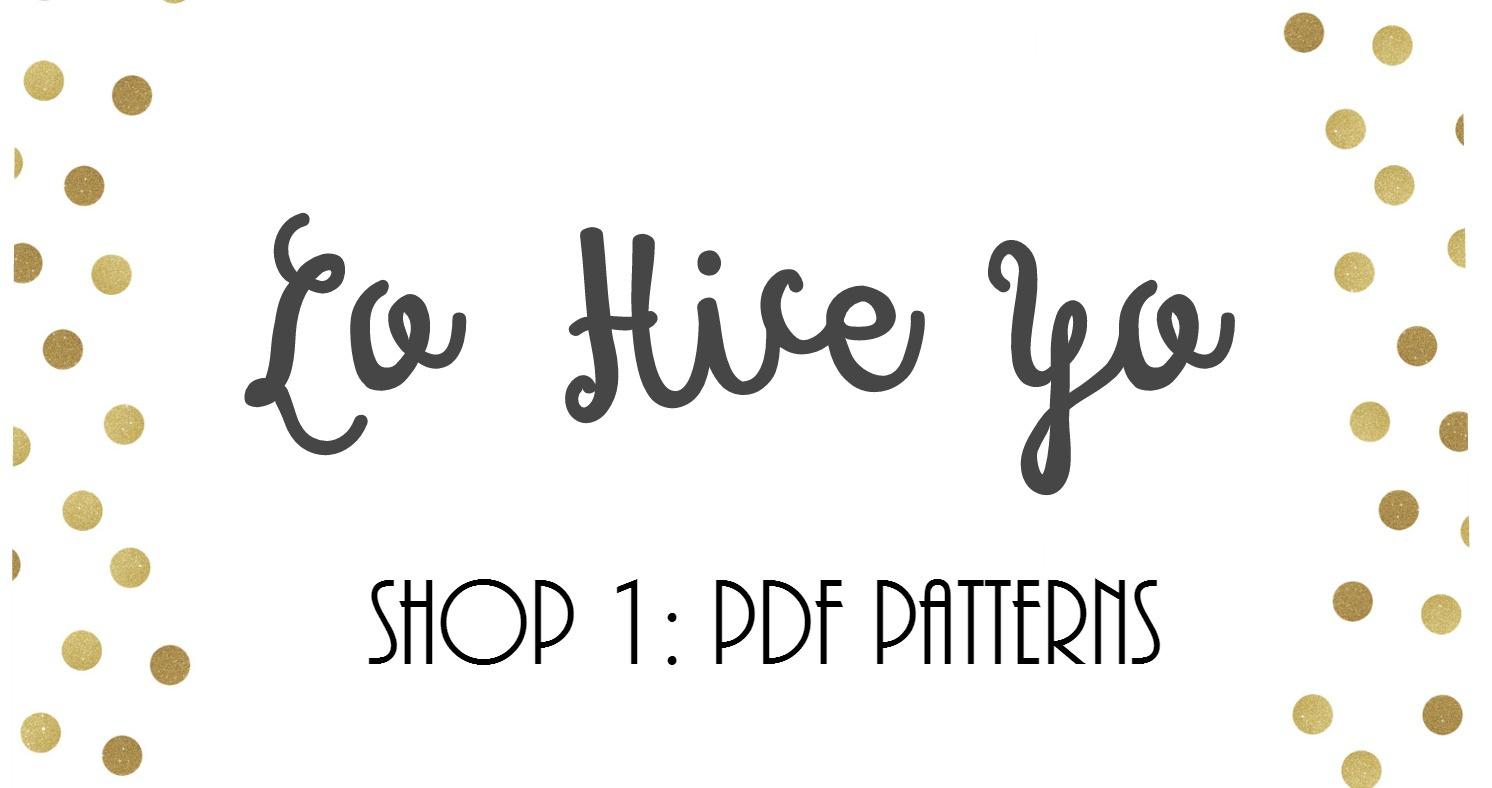 Shop My PDF Patterns