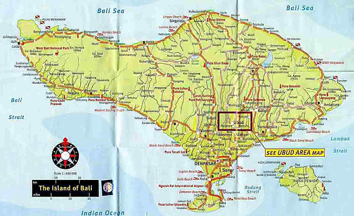 Welcome To Bali Maps