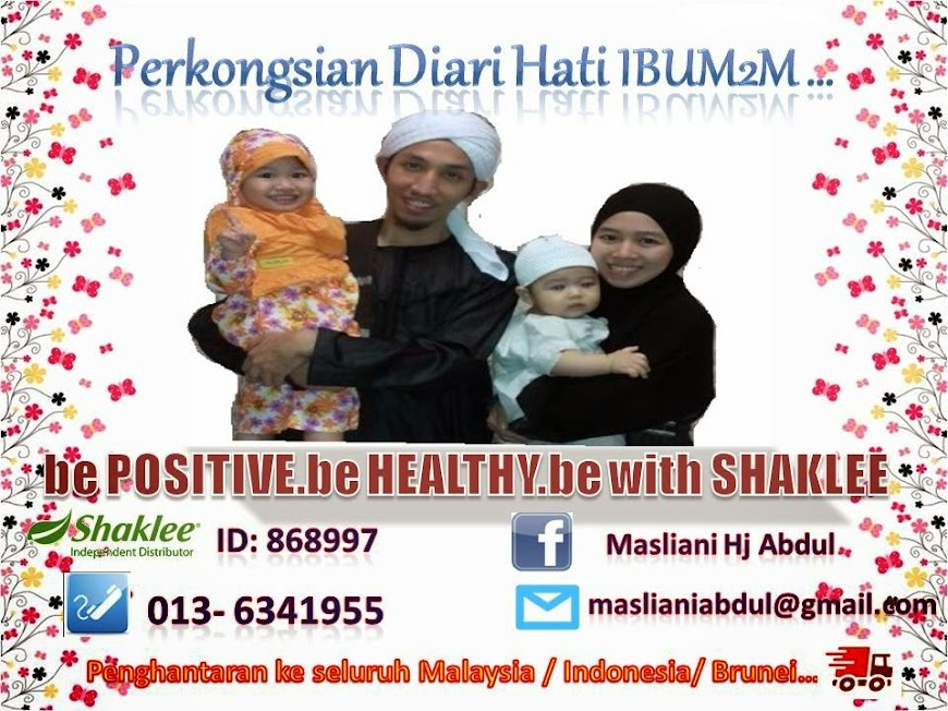Be Positive, Be Healthy, Be with Shaklee