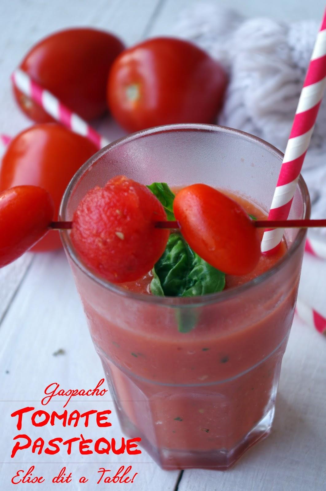 recette Gaspacho tomate