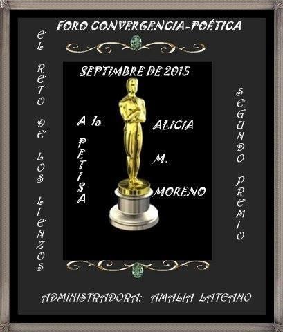 2DO Premio Septiembre 2015 Reto de los lienzos