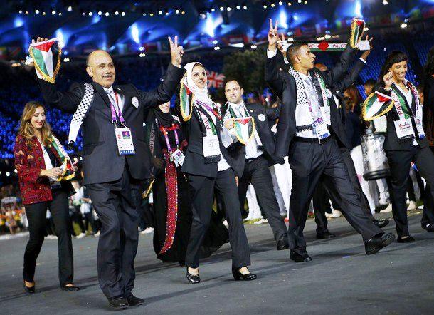 Delegação palestina nas Olimpíadas de Londres