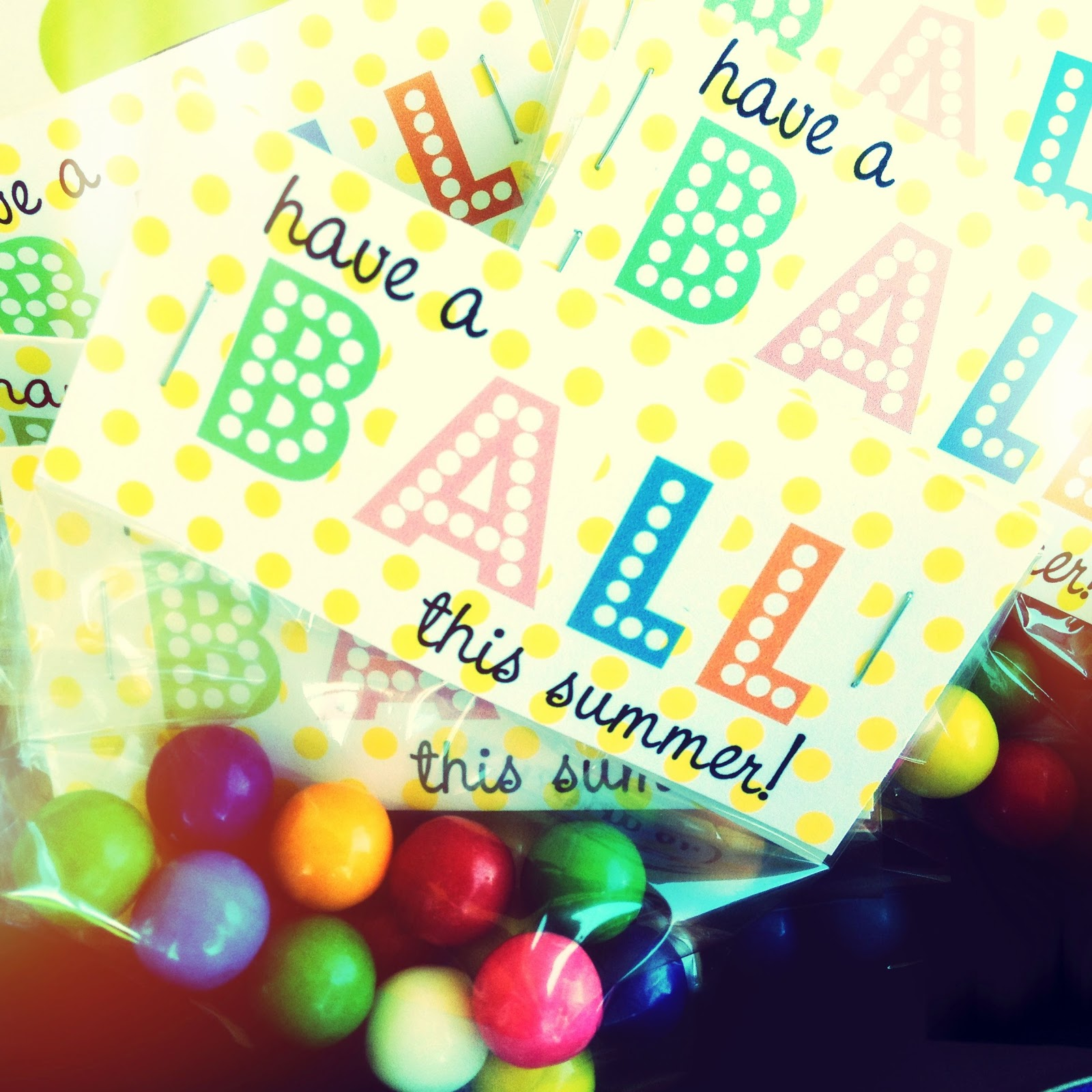 picture about Have a Ball This Summer Printable identify Larcie Chook: Summertime H2o Social gathering