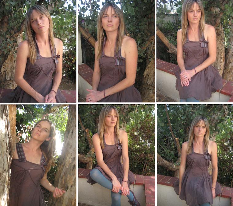 Asymmetrical boho brown tunic/dress