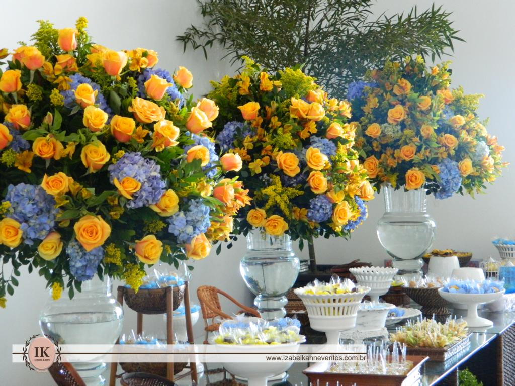 decoracao em azul turquesa e amarelo:Casando e Amando: Inspiração – Decoração Azul e Amarelo