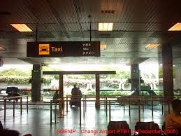 Taxi to city from Changi Airport Singapore