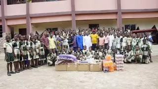 Prince Osisioma Foundation donates computers and Free Internet Service to St Mary Anglican Secondary School, Ukpo