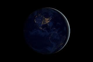 City Lights of North America (NASA Visible Earth)