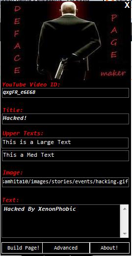 Cara Deface HTML