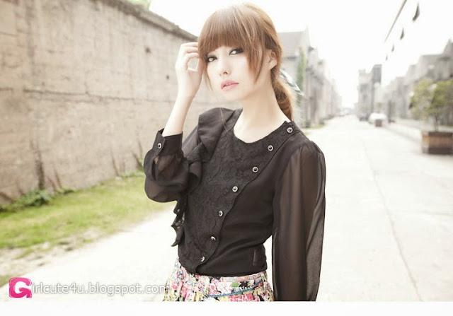 4 Zheng Lu - Mystery Figure- very cute asian girl-girlcute4u.blogspot.com