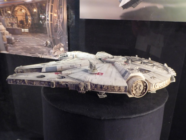 Star Wars Force Awakens Millennium Falcon model