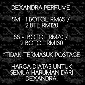 DEXANDRA PERFUME PRICE