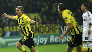 Hasil Akhir Dortmund vs Real Madrid 2-1