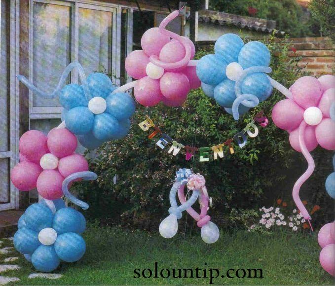 como hacer un arco de globos para fiesta infantil