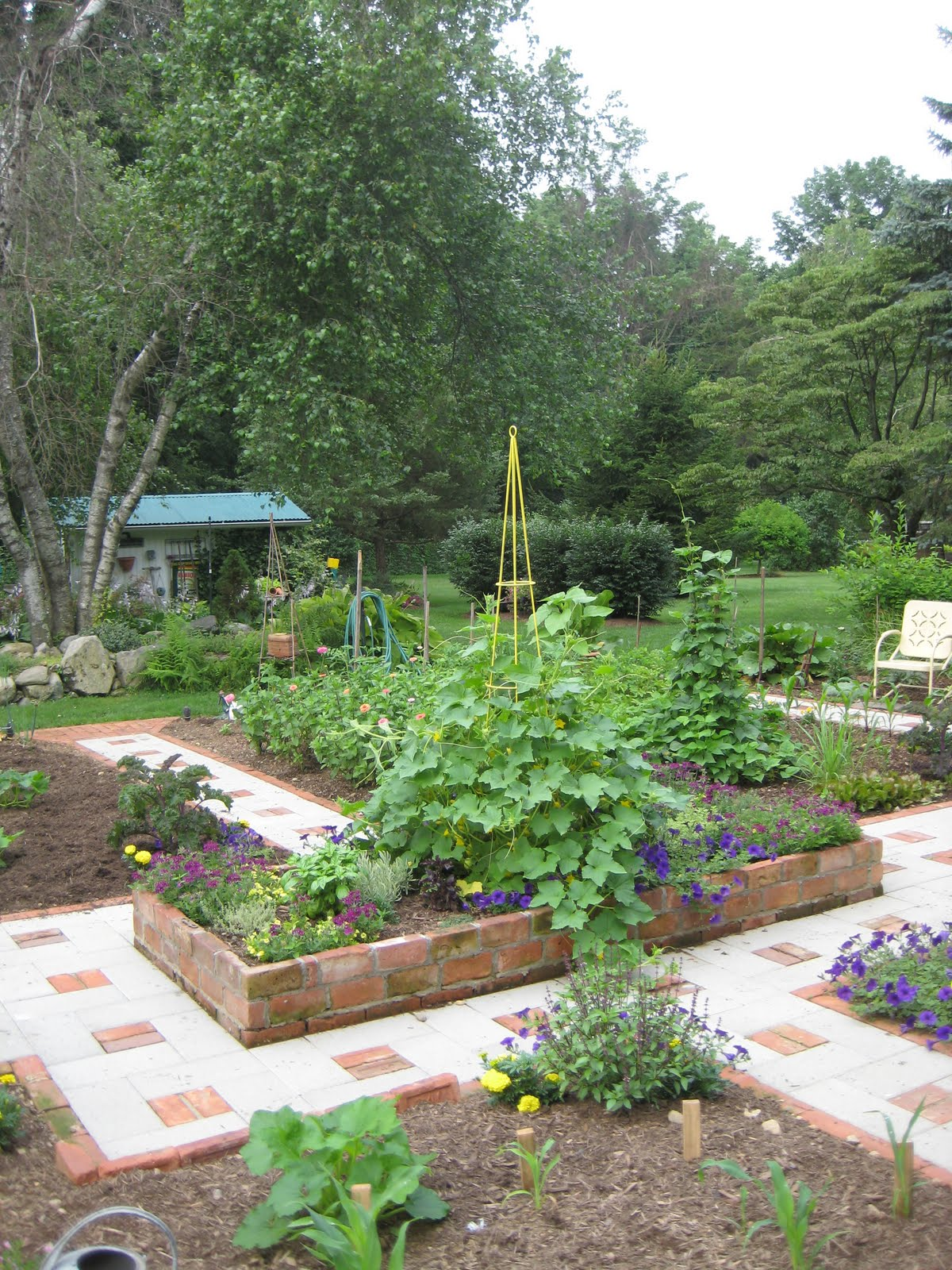Kitchen Gardens Master Gardeners Of Rockland Edible Gardening