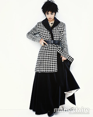 Kang Hye Jung - Marie Claire Magazine December Issue 2013