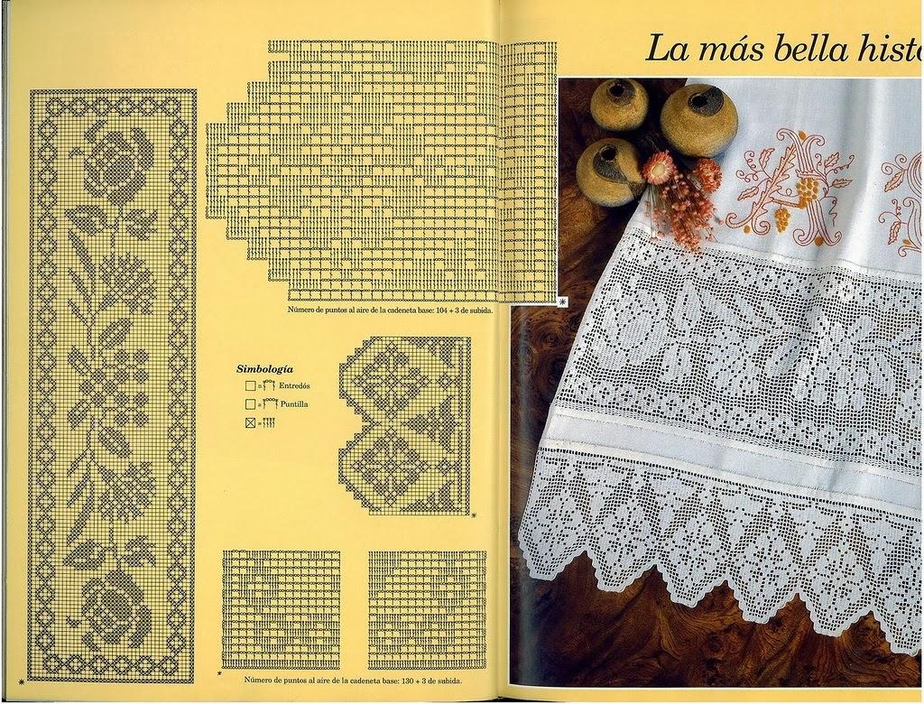 Филейное вязание крючком. VK 62