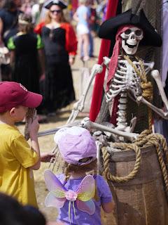 Children at Renaissance Festival in Deerfield Beach