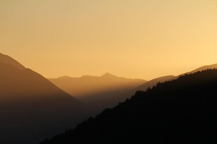 Pôr do Sol na Nova Zelândia