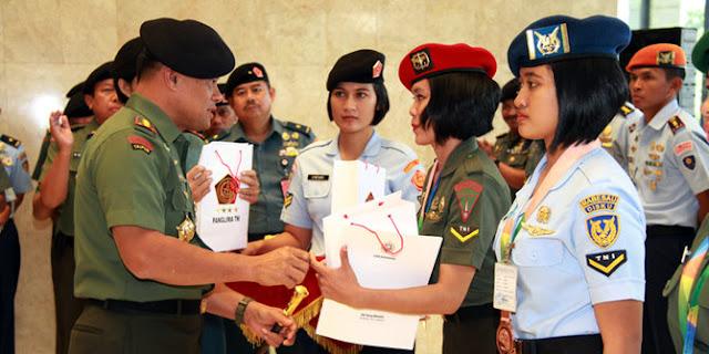 Atlet TNI Rebut Tiga Medali Olimpiade Militer Dunia