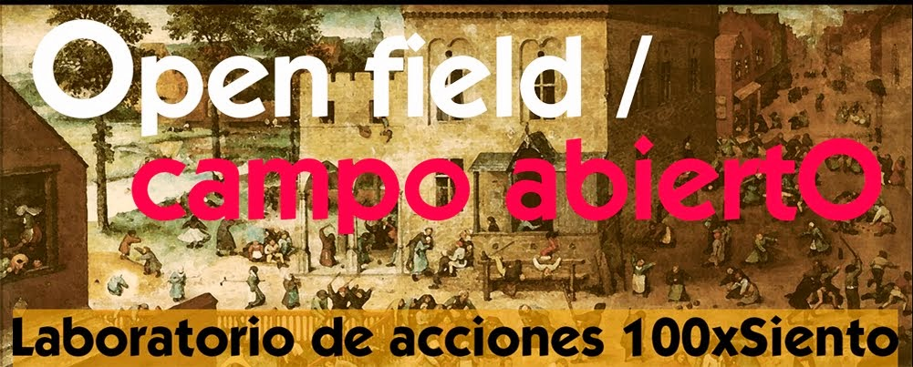 Open field / campo abiertO - Laboratorio de acciones