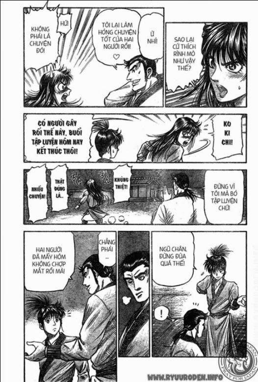 Chú Bé Rồng - Ryuuroden chap 207 - Trang 15