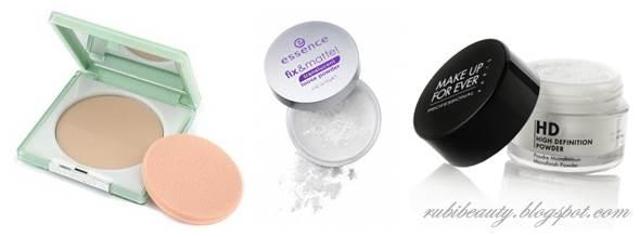 polvos matificantes translucent powder maquillaje makeup kit basico principiantes