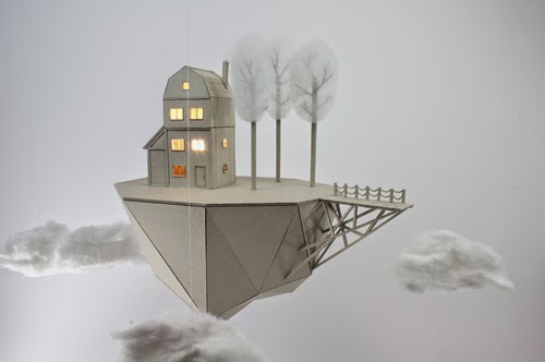 01-Floating-Island-Vera-van-Wolferen-Architectural-Cardboard-Night-Lights-www-designstack-co