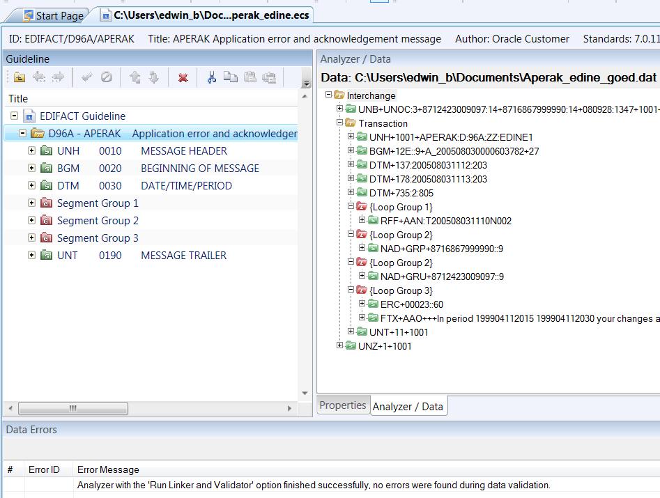 Java / Oracle SOA blog: Processing EDIFACT documents in Oracle B2B