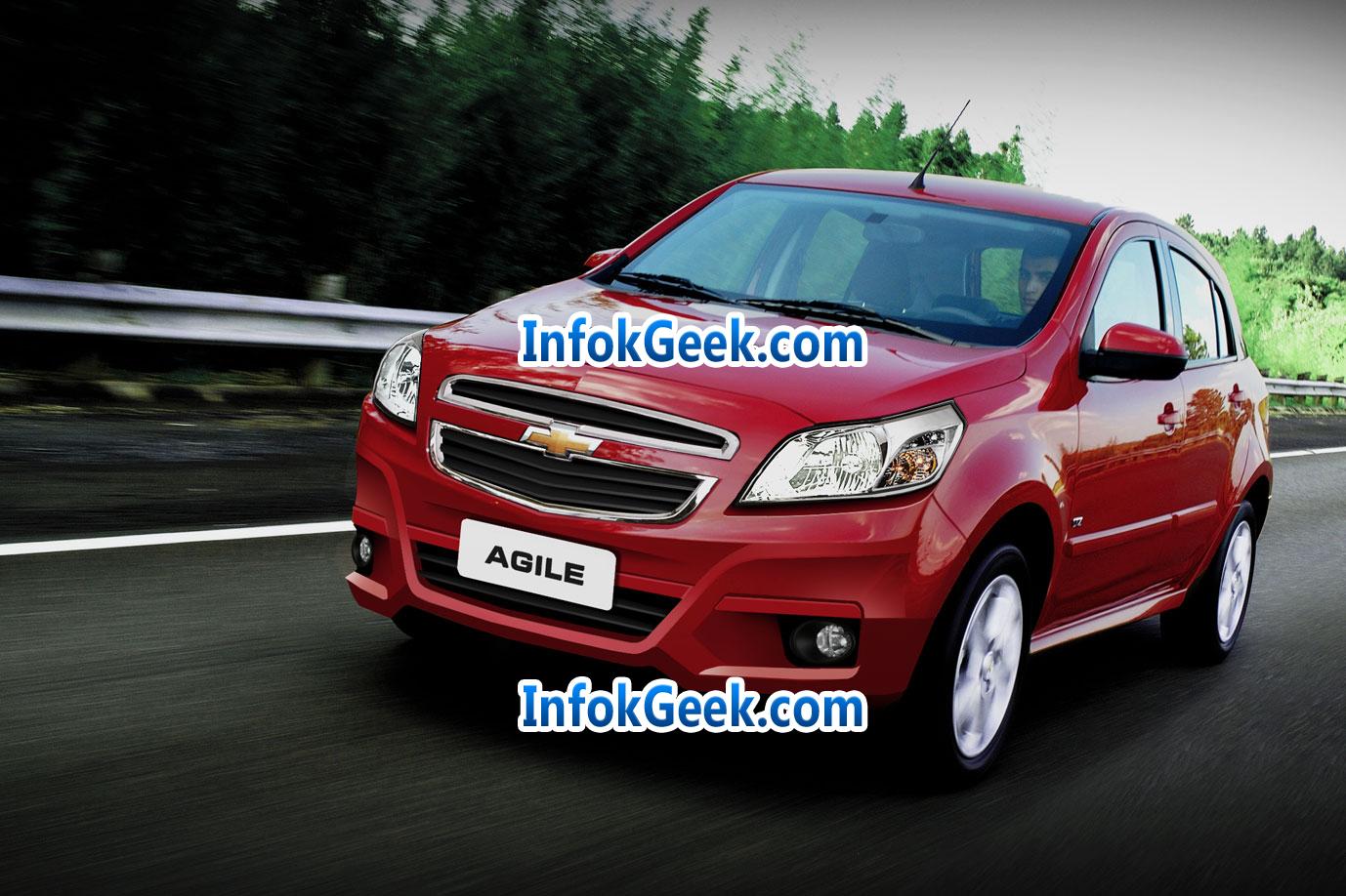 Foto del nuevo Restyling del Chevrolet Agile 2013 - 2014