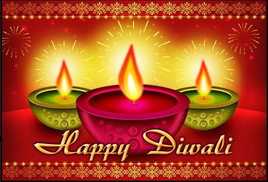 Diwali Cards: Diwali Diya Cards